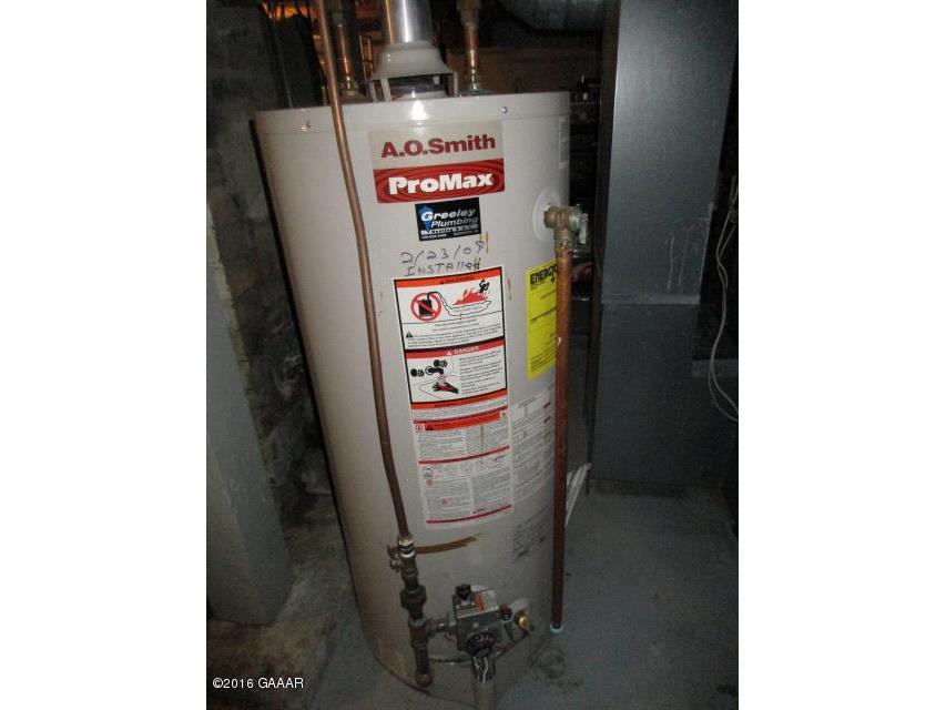 Water heater, gas