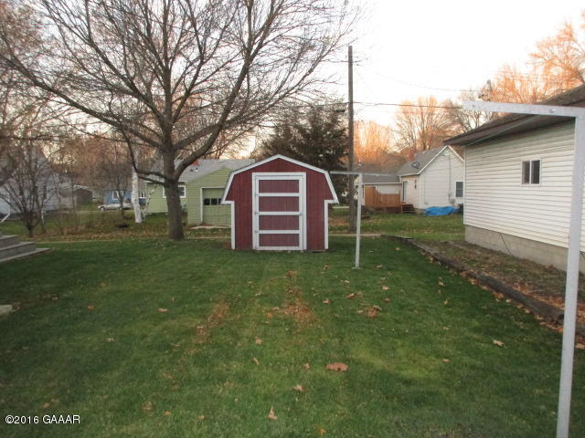 East storage shed