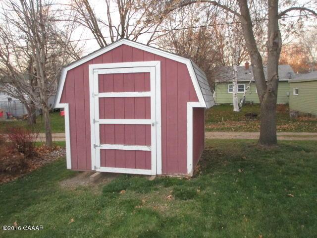 West storage shed