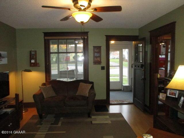 Living room toward porch
