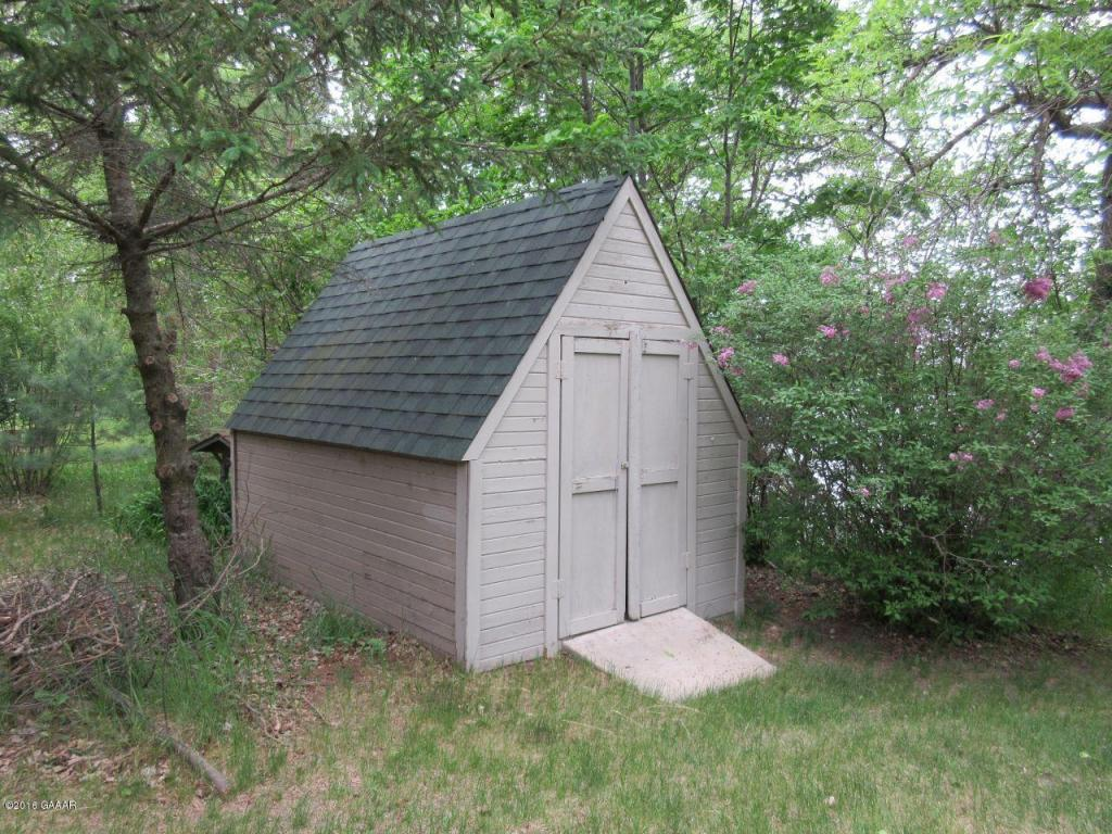 Shed by Lake