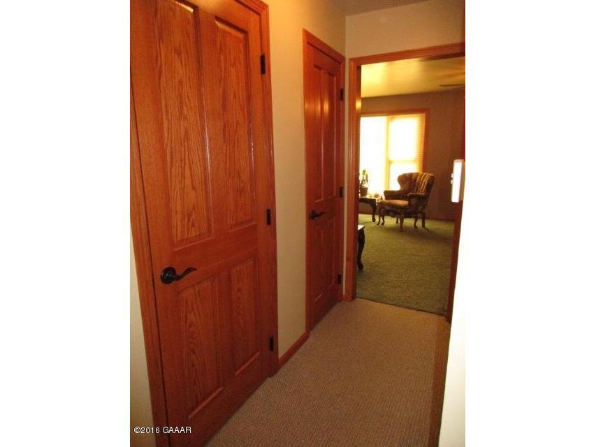 Left door to LL, Rt door is storage