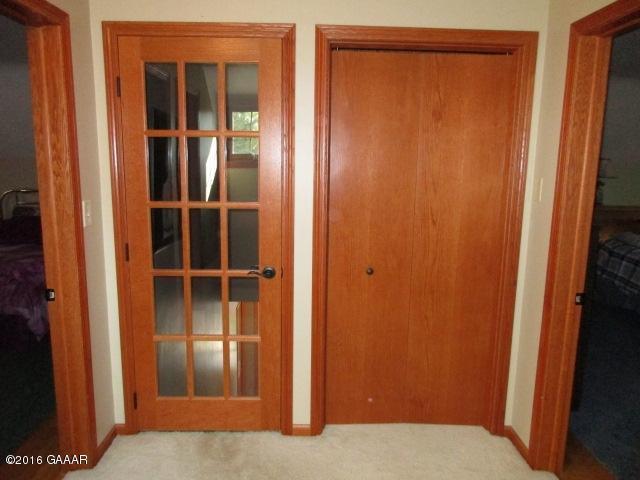 Closet space in Landing area, UL