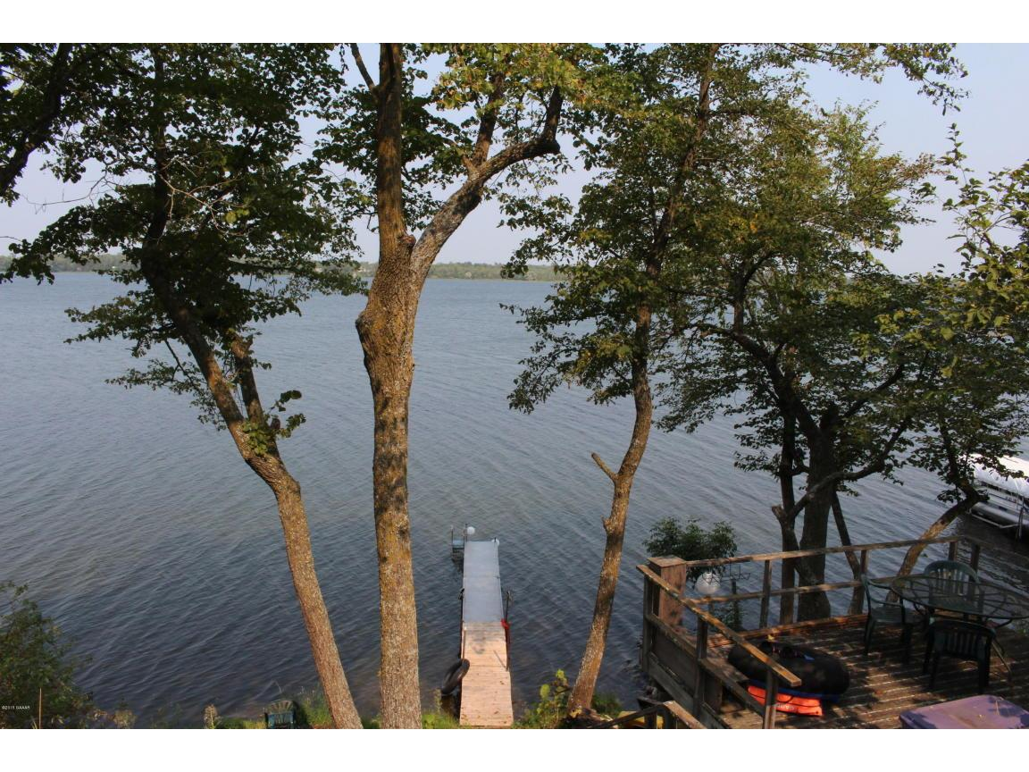 Dock to Lake Irene