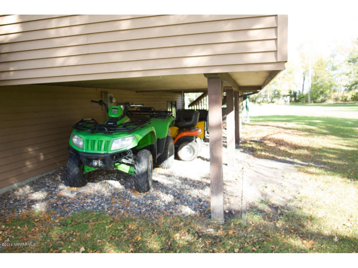 STORAGE UNDER PORCH