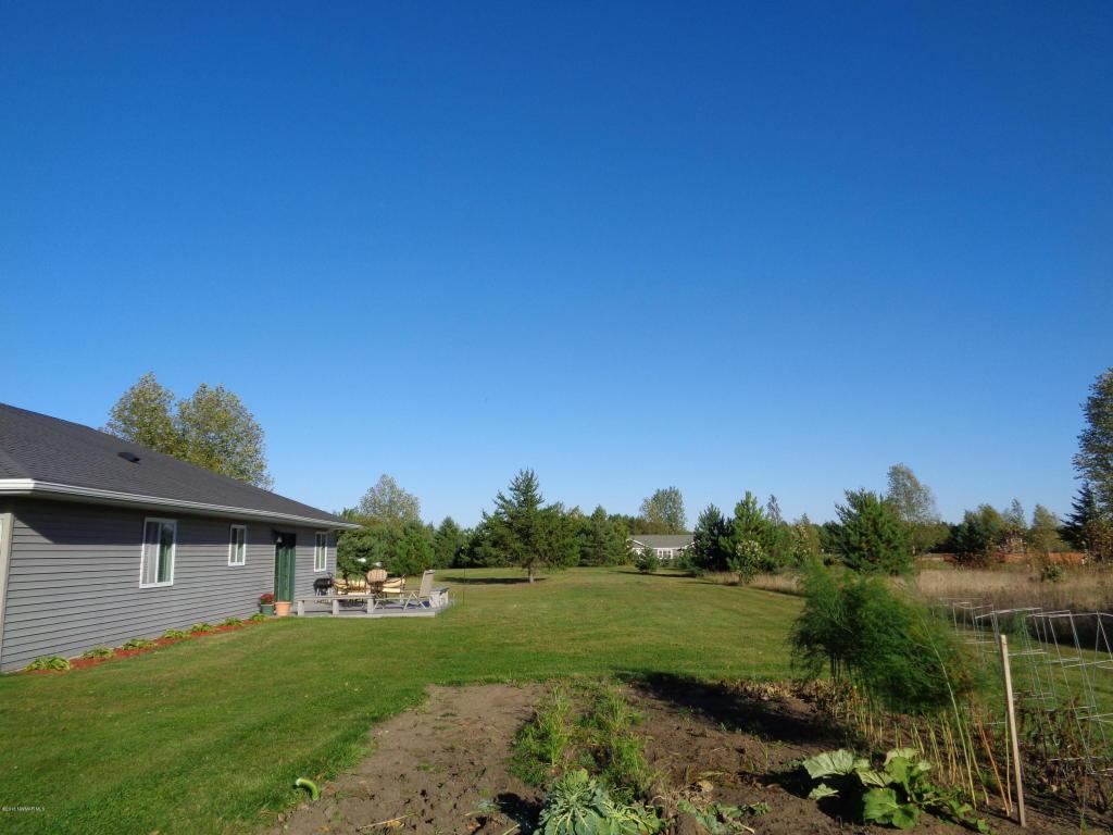 Backyard & Garden Area