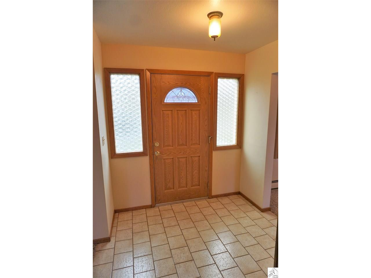 Front Foyer with large closet.