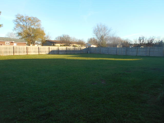 100 X 100 Ft Fenced Backyard!