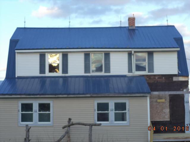 newer metal roof