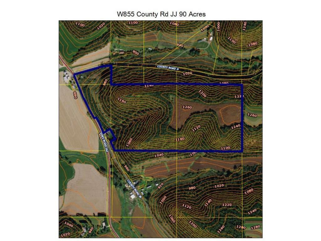 W855 County Rd JJ 90 Acres