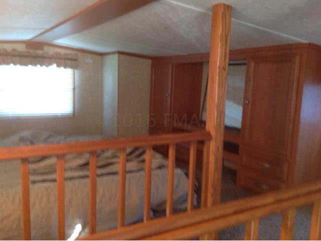 loft with built in storage
