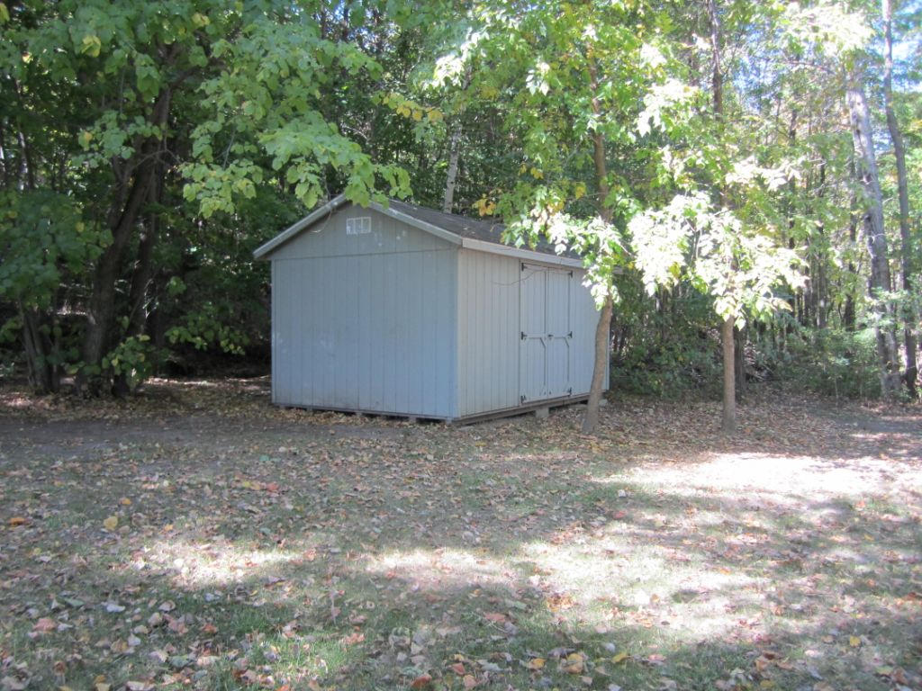Lake storage shed