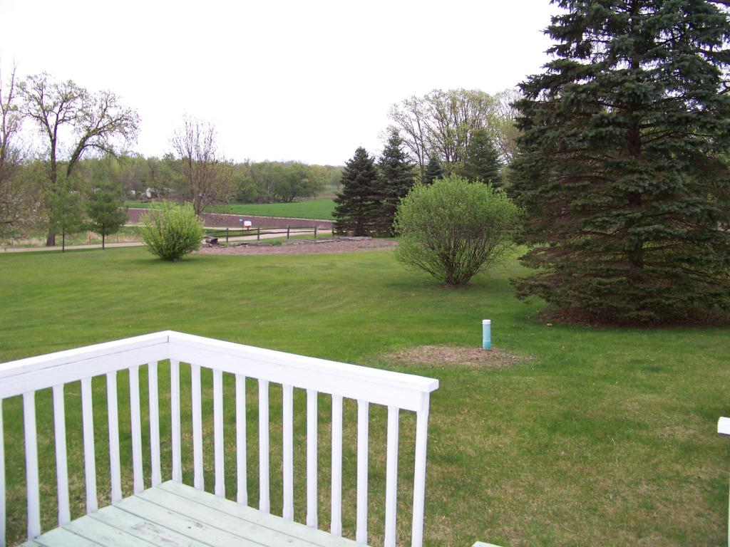 View from Master deck