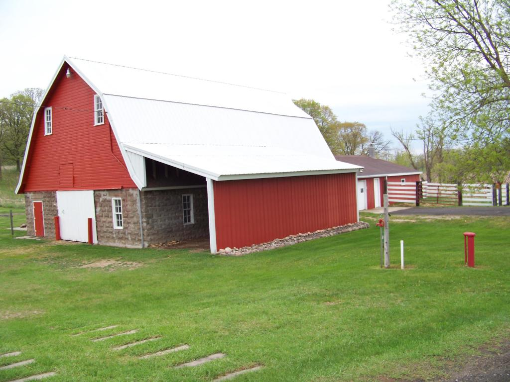 Barn with shop