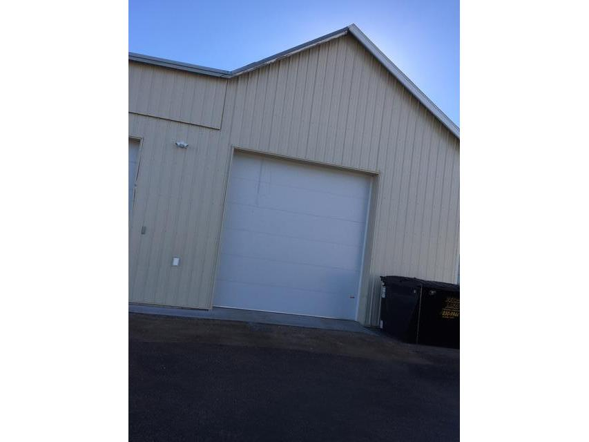 2 Large Commercial Doors