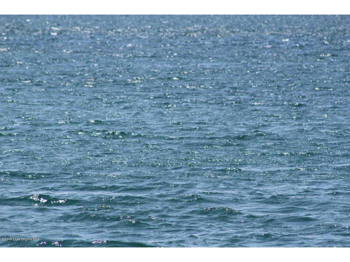 The Caribbean like water in Eagle Lake