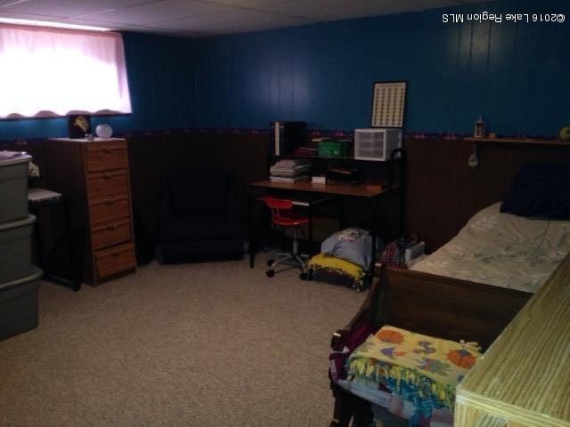 Low level Bedroom (needs egress)