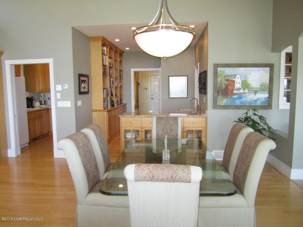 Dining room and wet bar