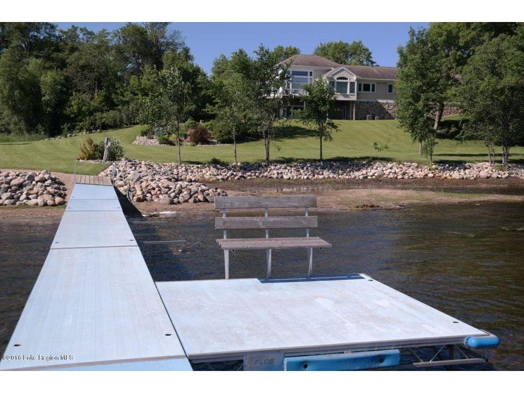 View of the home from the dock