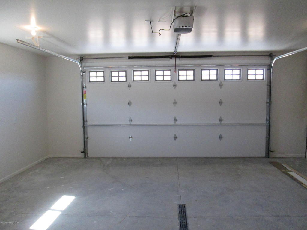Insulated & finished garage
