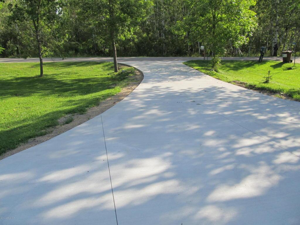 concrete drive