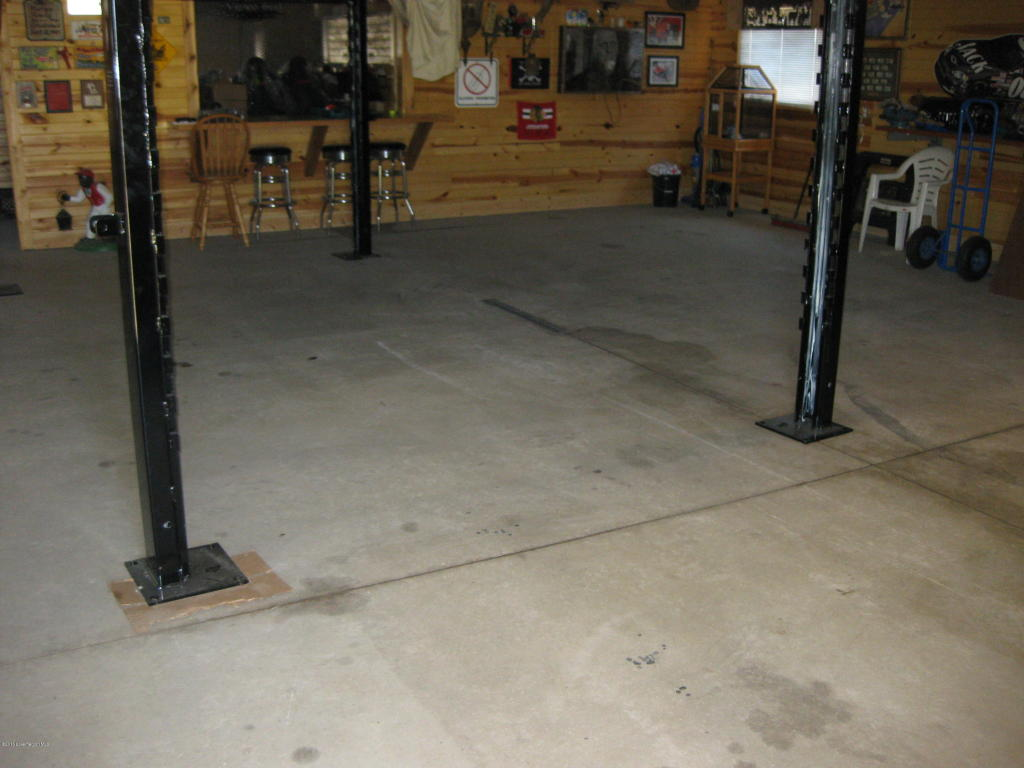 Heated garage