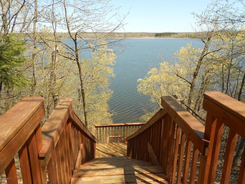Lake stairs