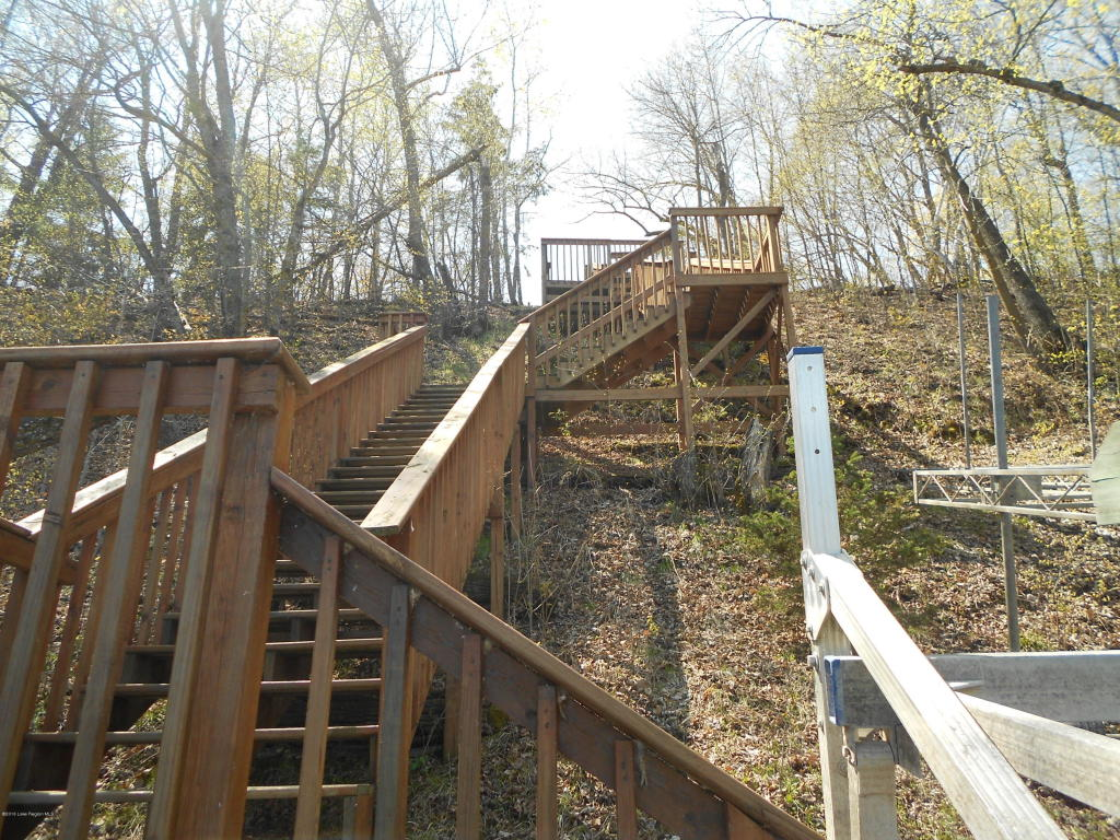 Stairs with landlings