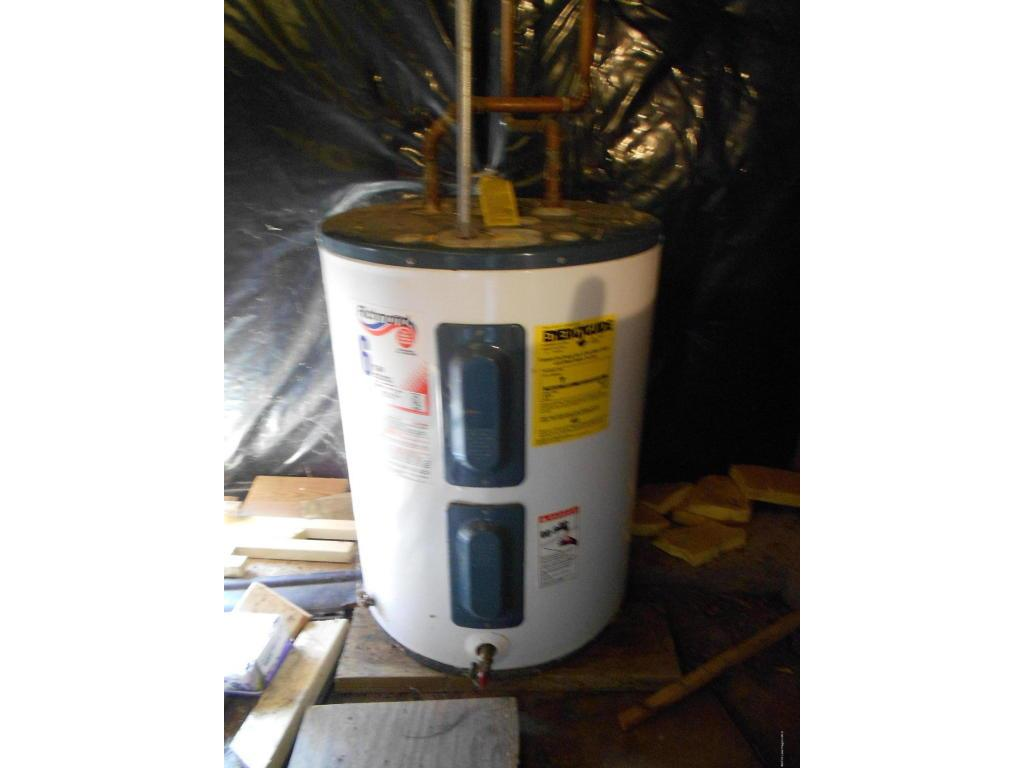 Water heater in Crawl space