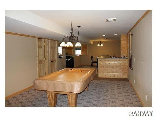 Den/Family/Great Room. Rec room w/ pool table area