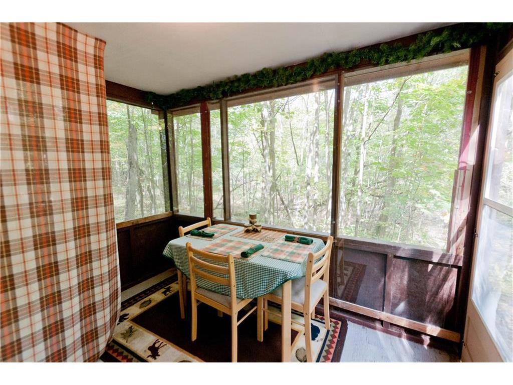 guest cabin porch