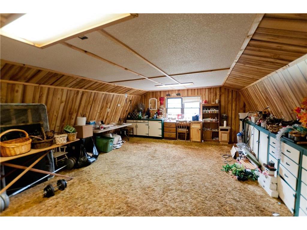 loft above detached garage