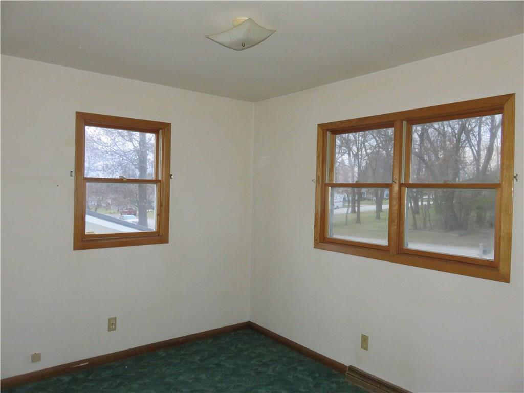 Main level has two bedrooms.