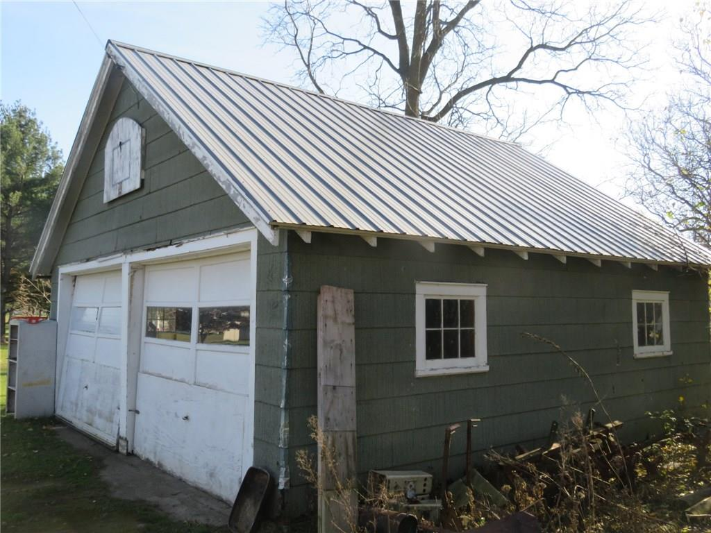Garage is 22 x 22 with newer roof.