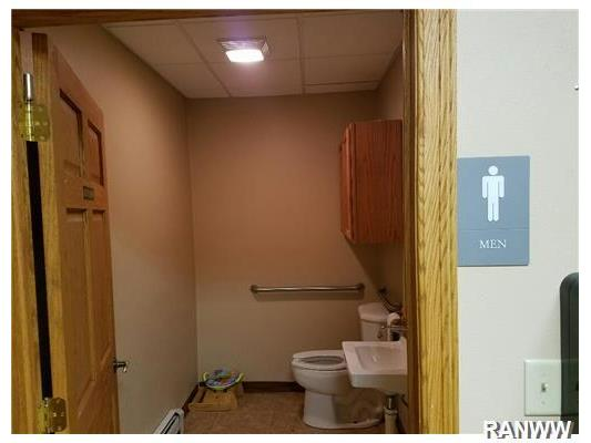 Bathroom. Separate Men and Women s handicap accessible restrooms