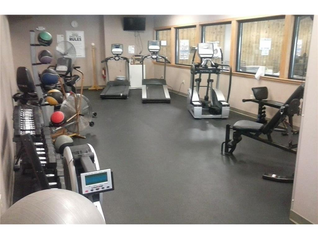Fitness center located in the lower level of the clubhouse and open year round.