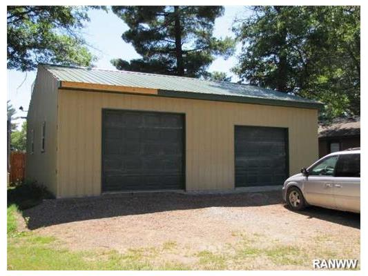 Newly Completed Garage