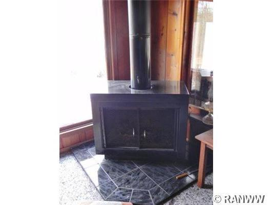 Other. Woodstove in Living Room