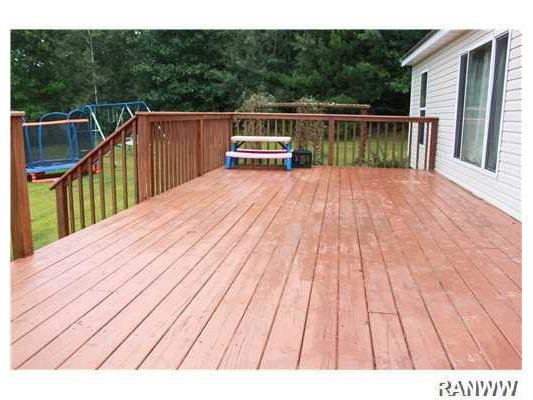 Other. Large deck out front