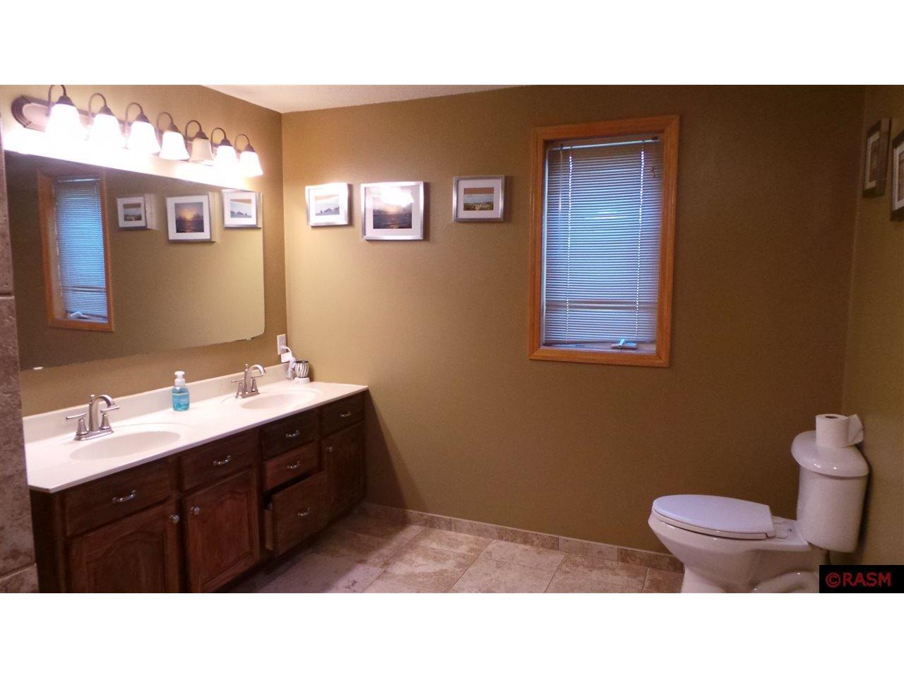 Master Bath with separate entrance from family room.