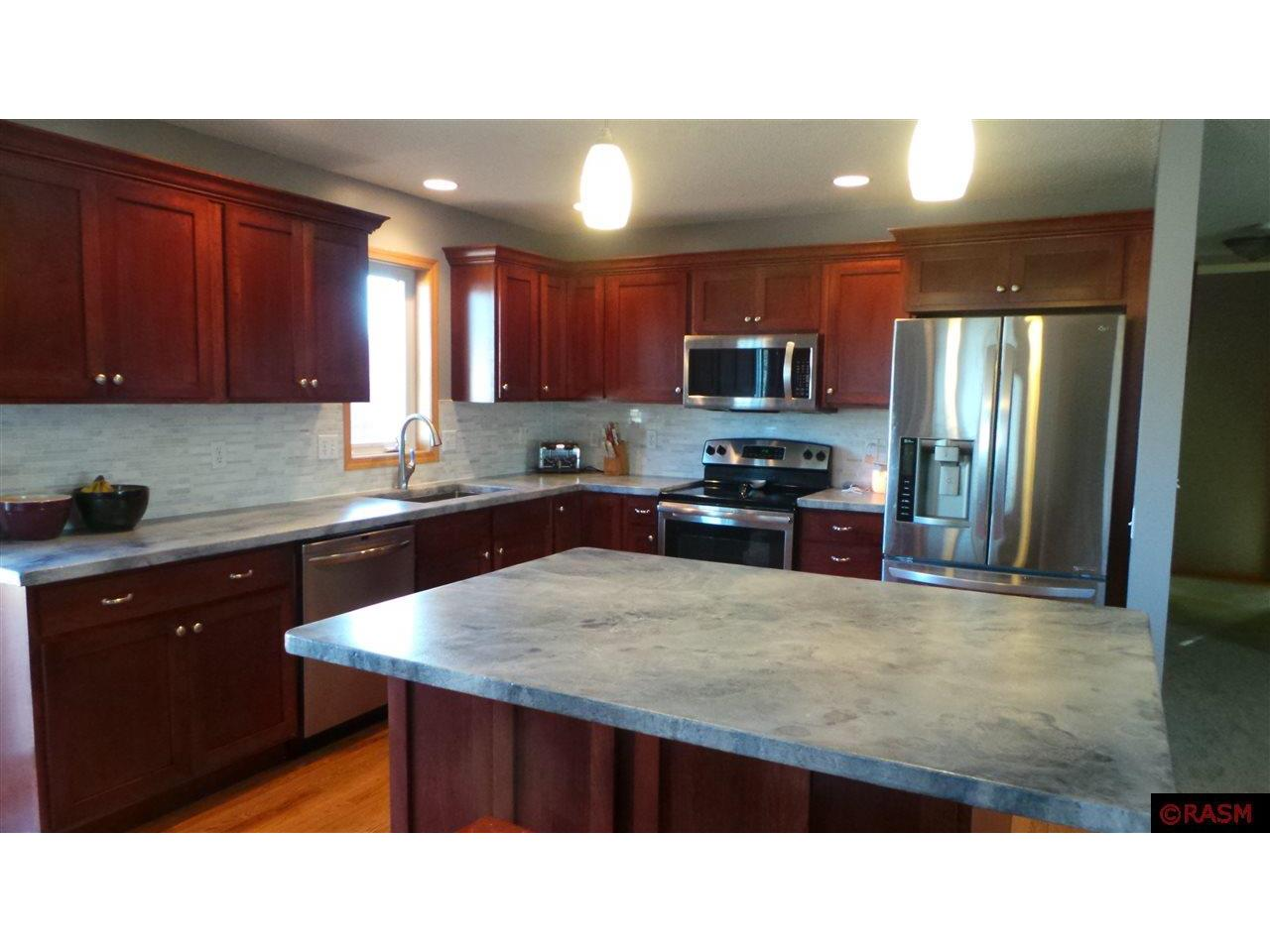 Newly remodeled with custom concrete countertops and brand new appliances