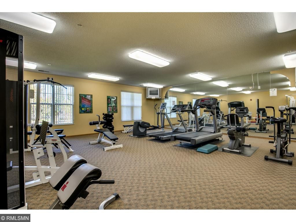 Common Area~ Exercise room to keep your body in motion.