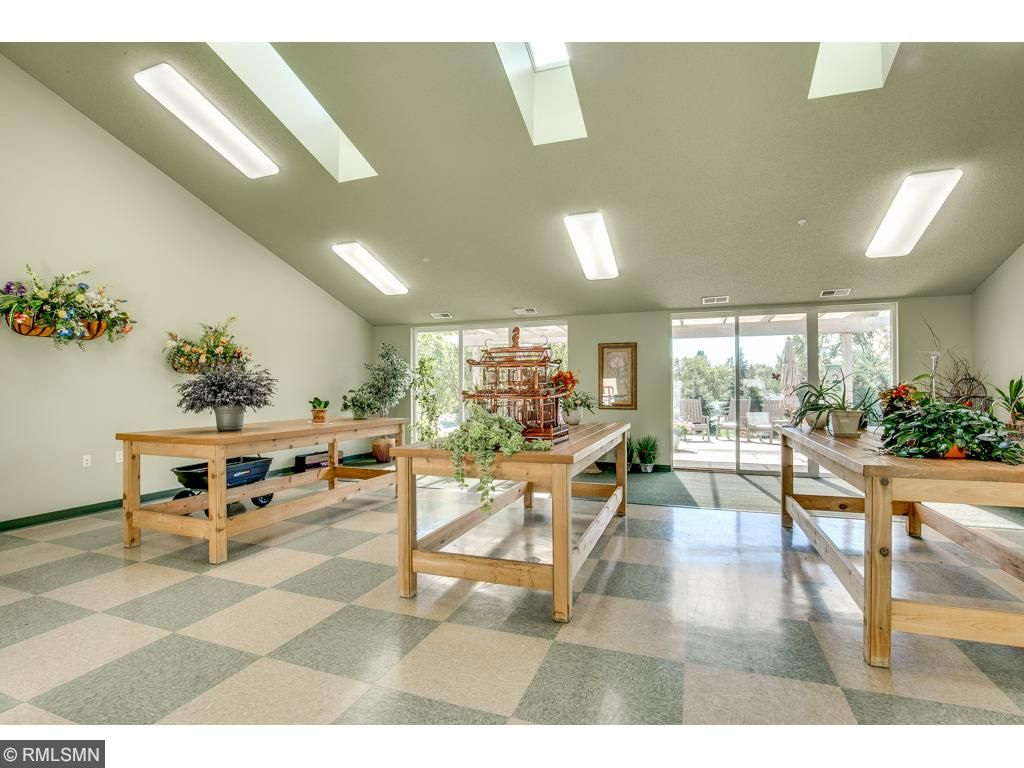 Common Area~Solarium is the perfect place to put your green thumb to work.  Or go on vacation and bring your plants here and they will be taken care of.