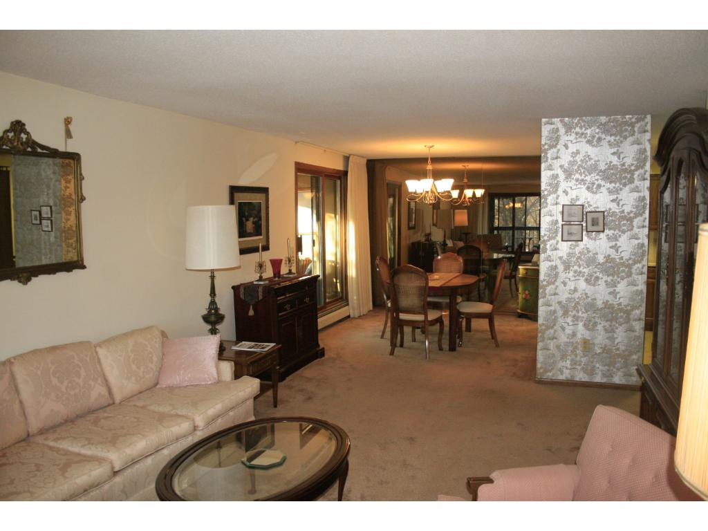 Formal dining room with a pass through to the kitchen.