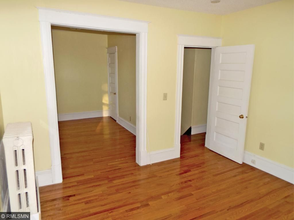 The bedrooms are large with nice redone wood floors.
