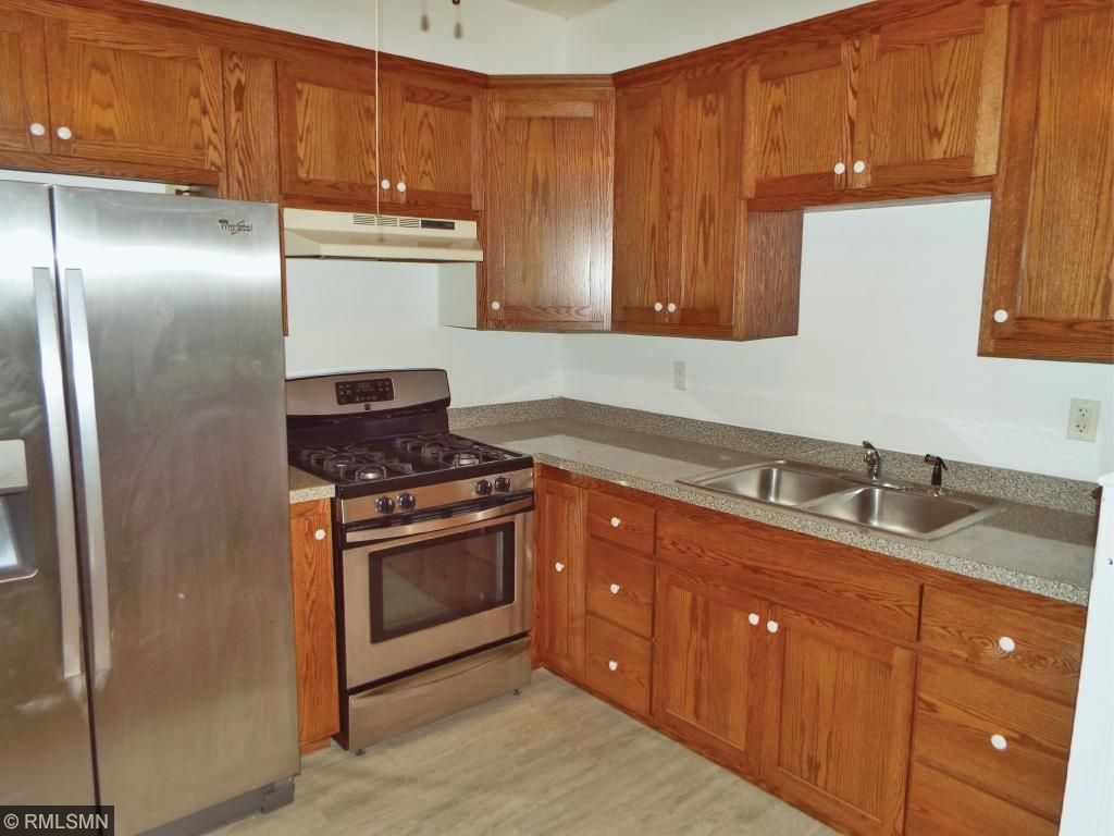 Remodeled kitchen, huge please to eat in with large windows and natural light.