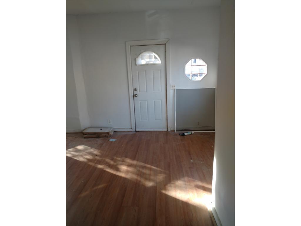 New door in the front