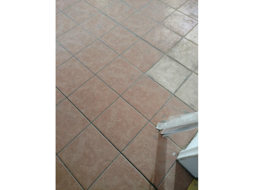 New tile in Kitchen