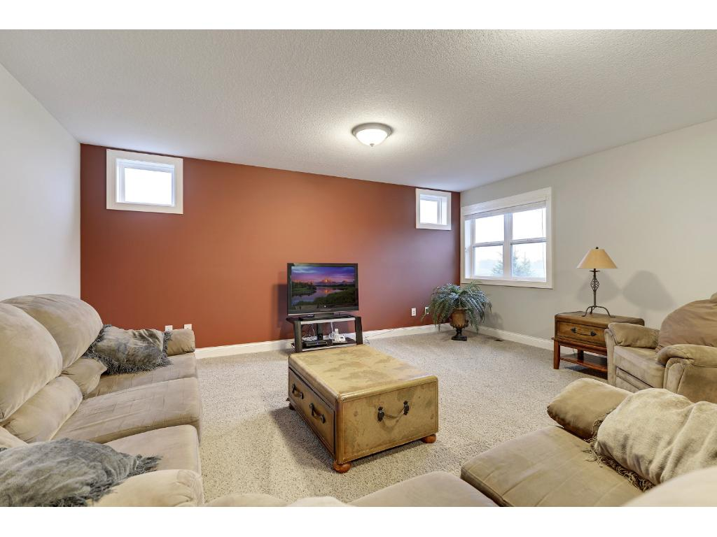 Bonus room- great for TV room, play room, workout room!