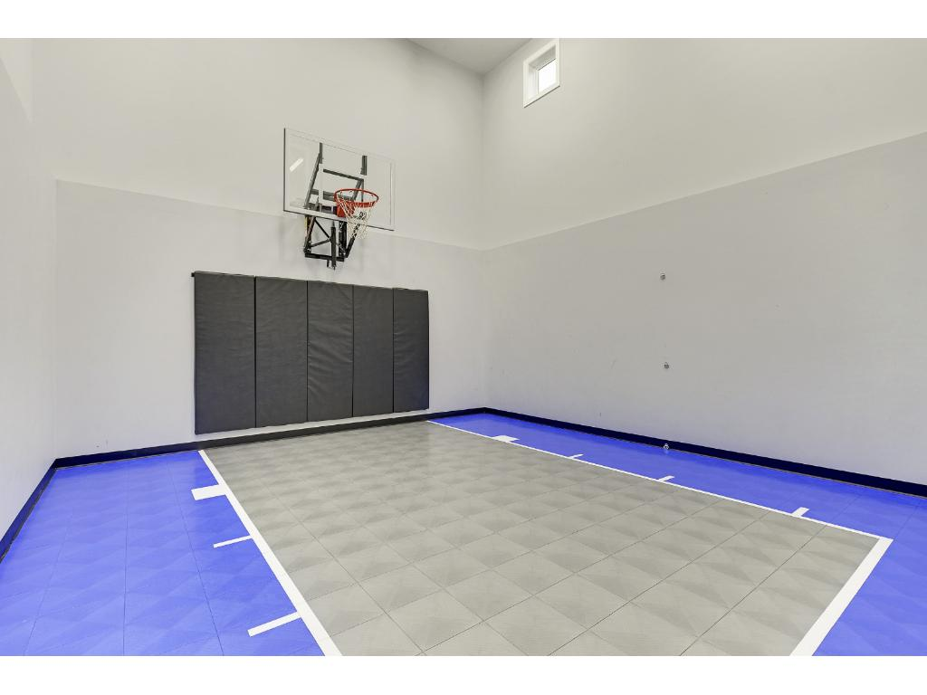 Keep the kids busy in winter with a Sport Court
